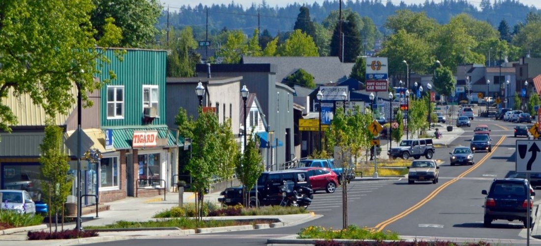 Moving to Tigard Oregon