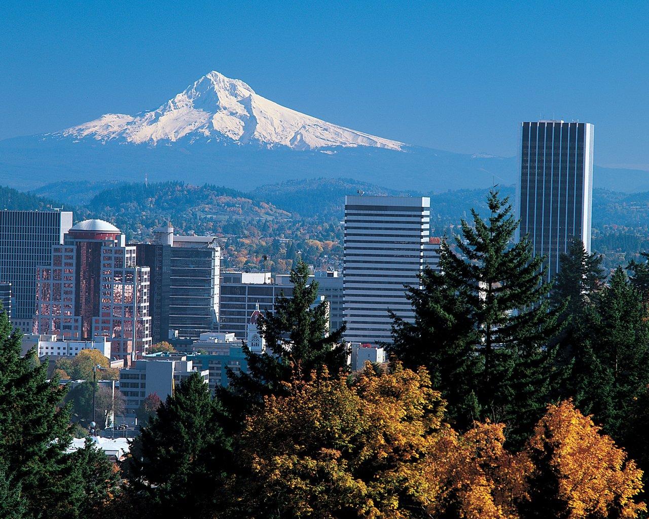 Beautiful Portland Skyline
