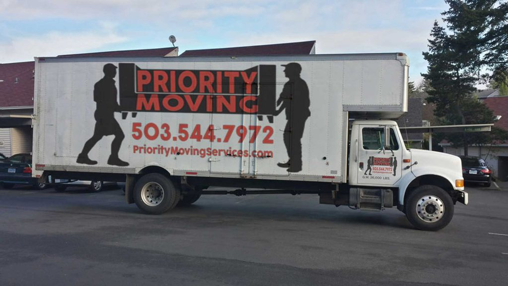 Priority Moving Services Serves Forest Grove Oregon
