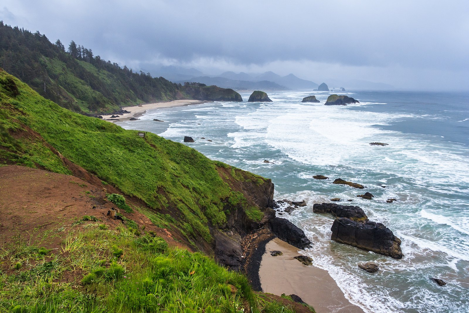 Crescent Beach near Cannon Beach Oregon