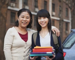 Mother and Daughter Moving Out of College Dorm