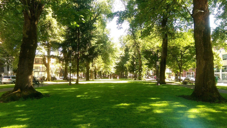 Moving to Portland Oregon - Park Blocks