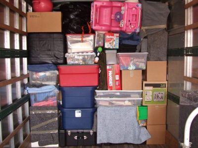 Organized Storage Unit with Priority Moving Services