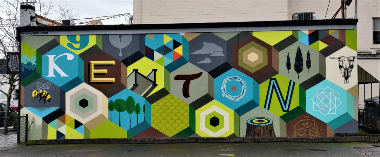 Kenton Neighborhood Mural
