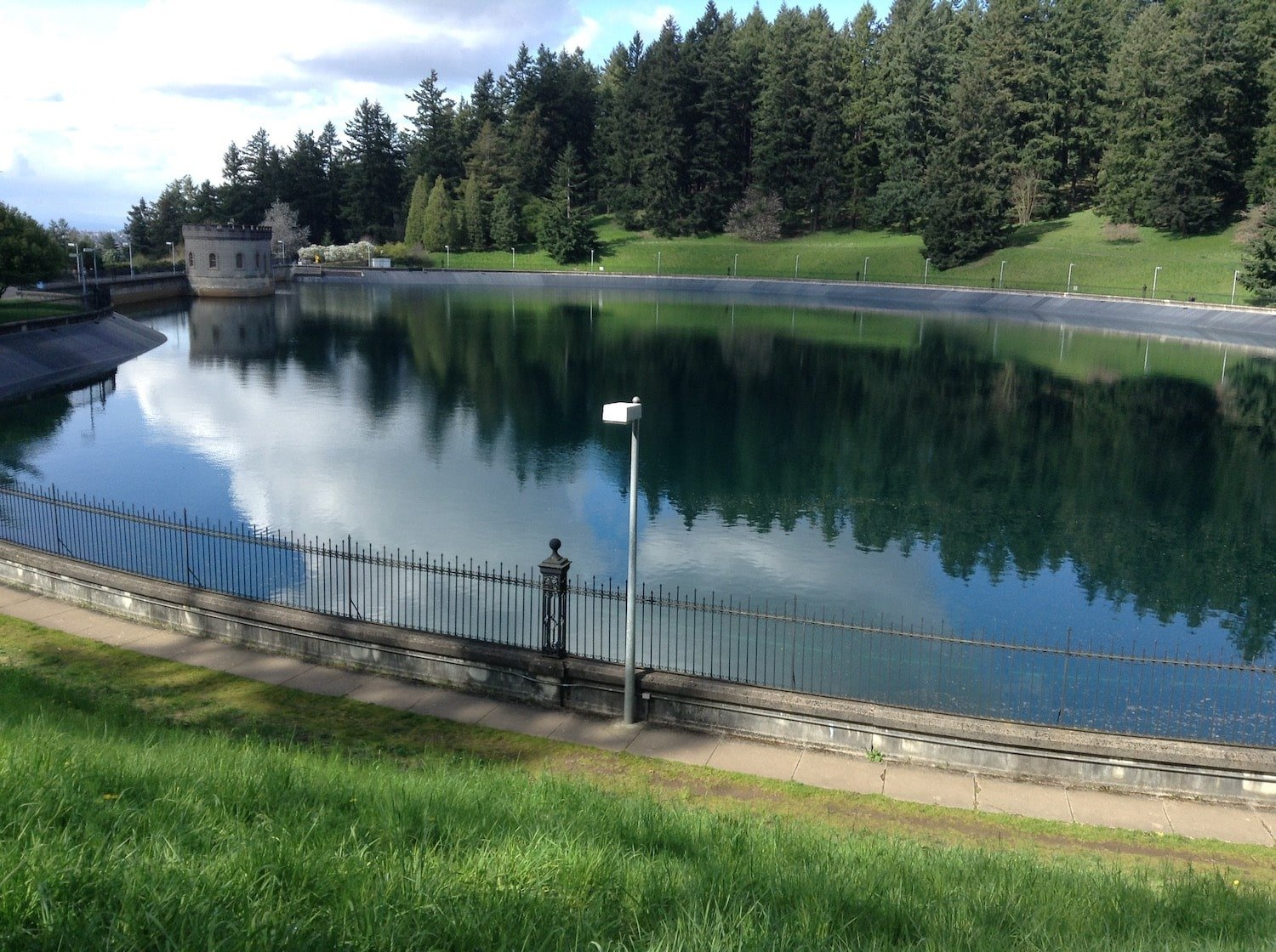 Mt. Tabor Reservoir in Portland
