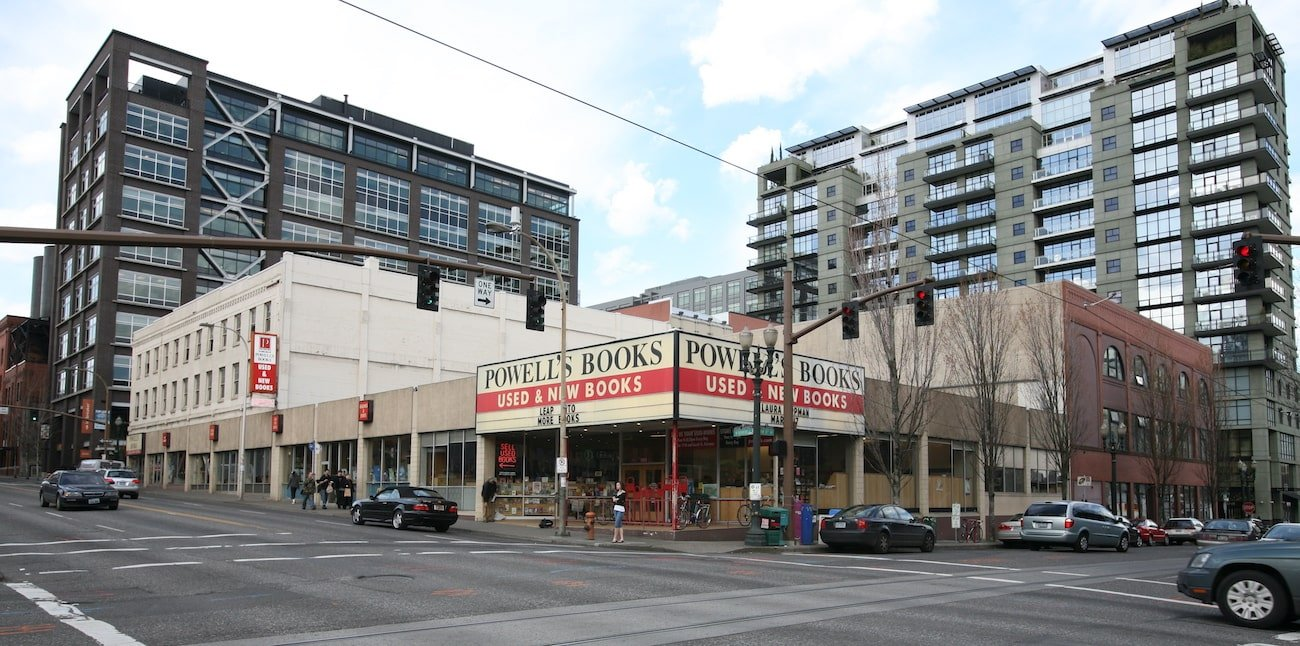 Powell's Bookstore in the Pearl District